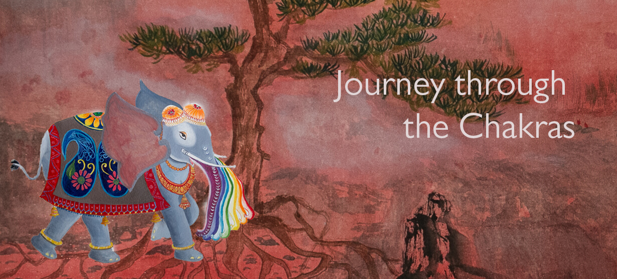 Journey through the Chakras, chakra by piya